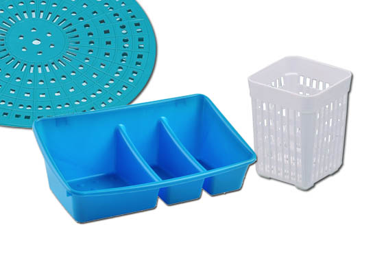 23 DISH DRAINER/CUTLERY HOLDER