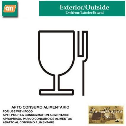 LOTE QUEMADOR/FUEGO40CM+P42CM´BUTANO´[LA ALBUFERA]