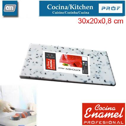 TABLA CORTAR 30X20X0,8 CM GRANITO [ENAMEL PROF]